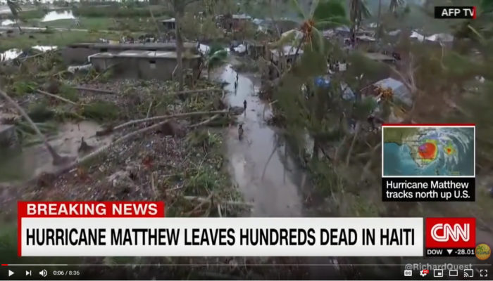 HANA featured on CNN Hurricane Report